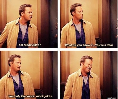 Chandler dad moment