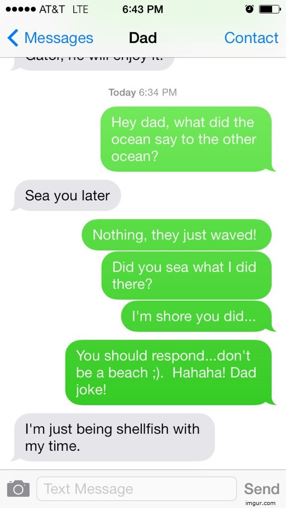 Sea Dad Joke